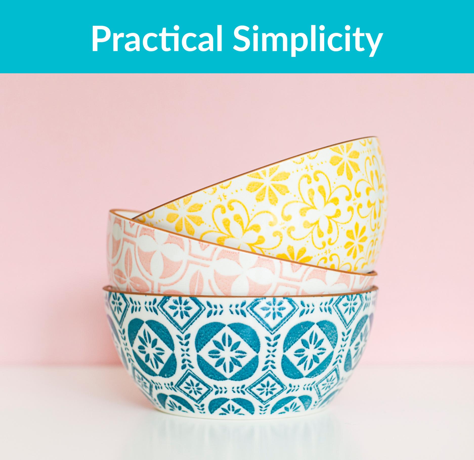 Practical Simplicity (1)