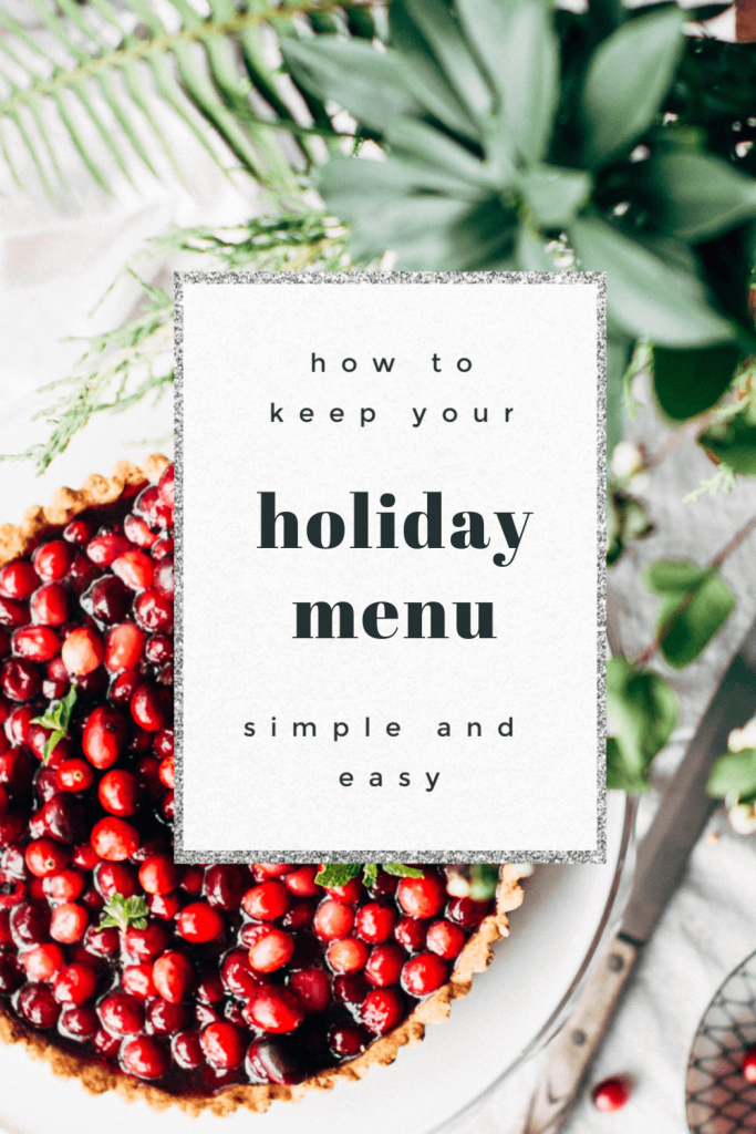 Holidays can bring a lot of stress, but cooking shouldn't be one of the stressors. Here's a few tips to make your holidays easier. #christmasdinner #simplifytheholidays
