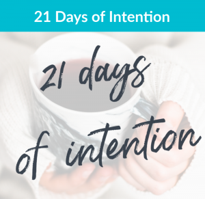 21 Days of Intention (3)