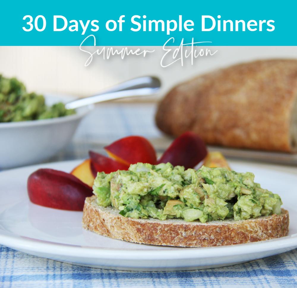 Simple Dinners (2)
