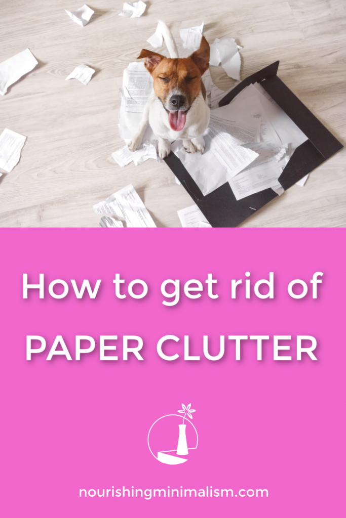 Of all the clutter that we have in our home, paper seems to be the worst. Here are specific strategies to help you overcome paper clutter and live a life of freedom.