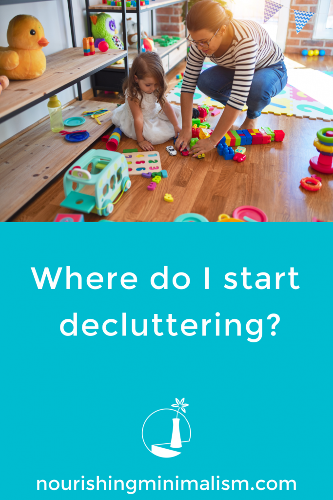 You know you need to simplify, but with all the stuff around the house... where do we even start decluttering?