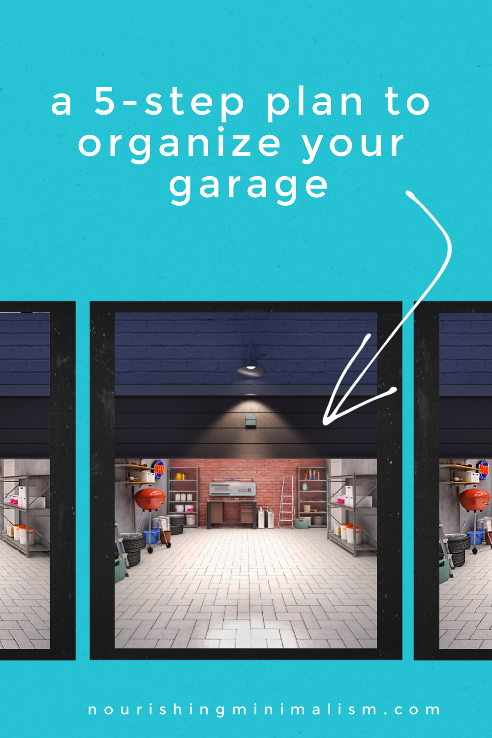 The garage tends to be the dumping ground for all those things we DON'T want to deal with. If that sounds familiar, here is the strategy I used to conquer the dreaded garage!