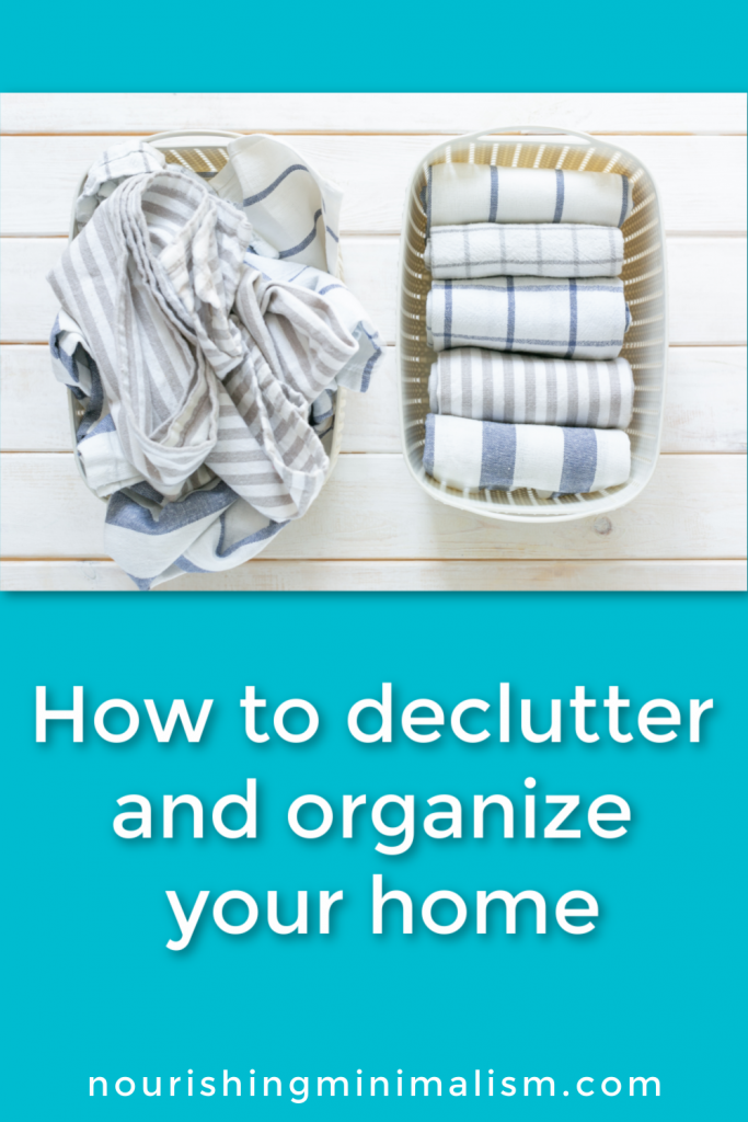 You want to declutter and organize your entire home, right? Sounds great! And I have a plan for exactly how to do just that!