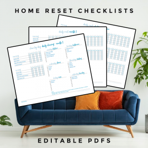 home reset checklists (1)
