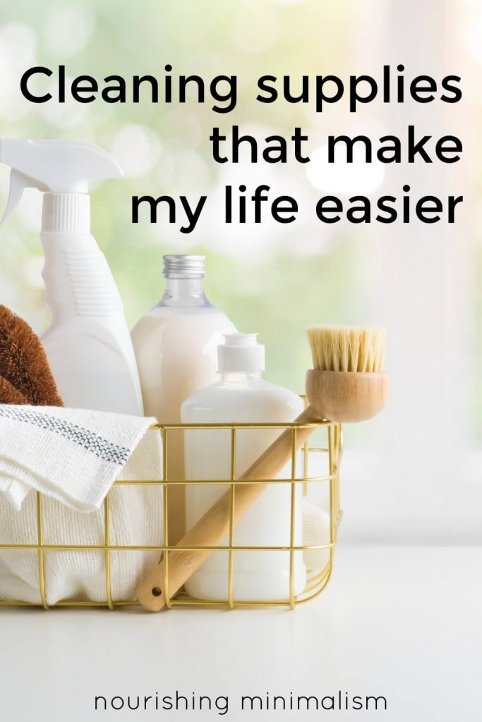 I will gladly tell you what items I use to clean the house, and why I like them, but please remember that the magic is not in the product, it's in the frequency of a cleaning routine.